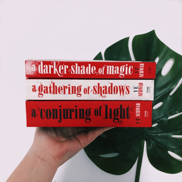 SHADES OF MAGIC TRILOGY REVIEW